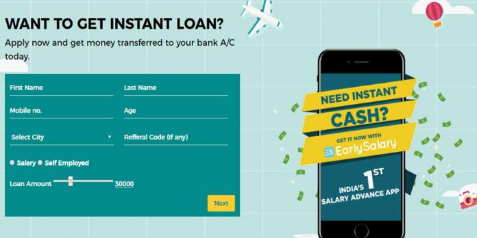 Instant cash loans India