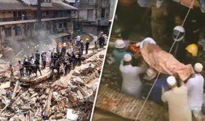 Mumbai's dongri area collapsed